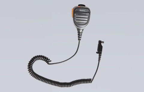Hytera Remote Speaker Microphone with emergency button and 3.5mm audio jack - SM26N2_Radio-Shop UK