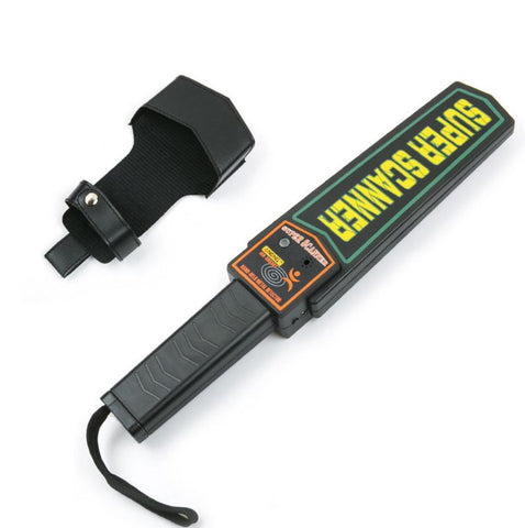 Portable Handheld Security Metal Detector_Radio-Shop UK