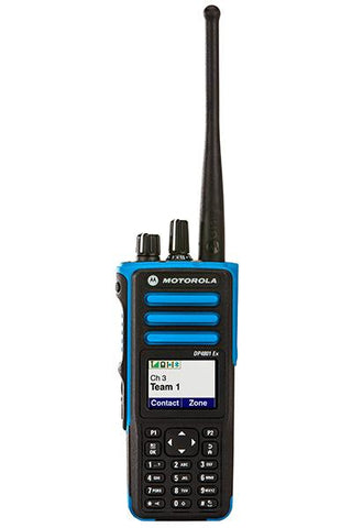 Motorola DP4801ex ATEX Digital Two Way Radio_Radio-Shop UK