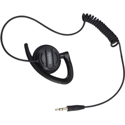 EH-02 Receive Only Adjustable Earhook with Swivel Speaker - Hytera - Radio-Shop.UK