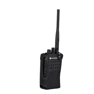 "Motorola Nylon Carry Case with 3"" Fixed Belt Loop for Non-Display Radio - PMLN5870A_Radio-Shop UK"