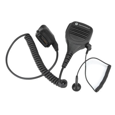 Motorola Earbud with 3.5mm Plug, UL/TIA 4950 - MDRLN4885B_Radio-Shop UK