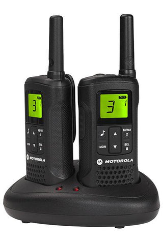 Motorola TLKR T60 Licence Free Walkie Talkie - Twin Pack - radio-shop-uk.myshopify.com