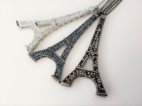 Long Eiffel Tower Necklace