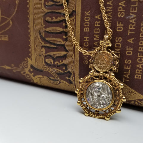 Vintage Victorian Double Sided Necklace