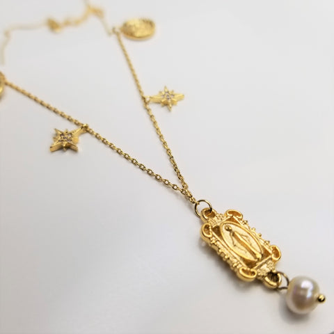 Byzantine Charm Necklace