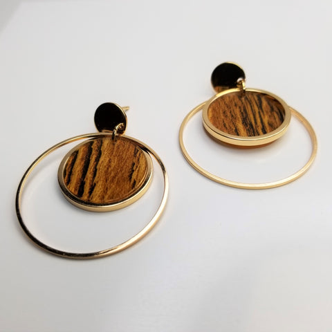 Circle Ring Earrings