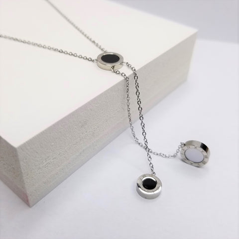 Double Sided Y Shape Necklace