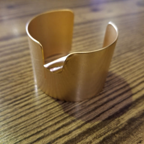 Antique Gold Cuff Bracelet