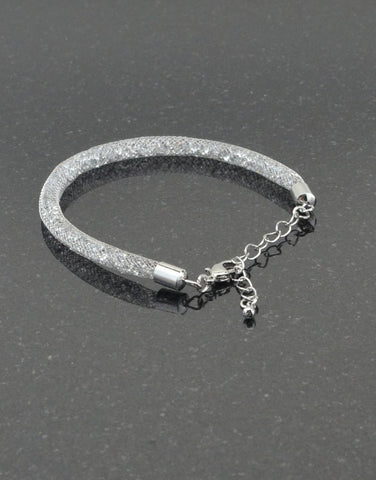 Crystal Tube Bracelet