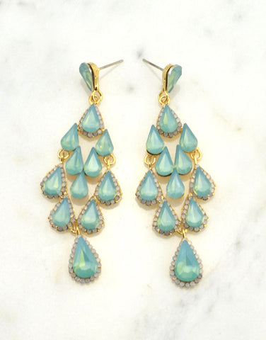 Chandelier Evening Earrings