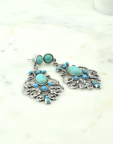The Power of Turquoise Earrings