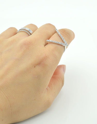 Adjustable V Ring