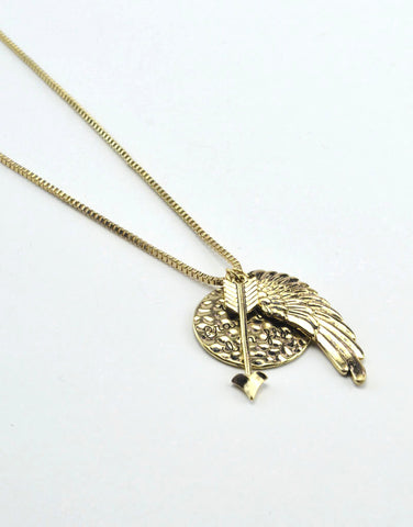 Brave Wing Necklace