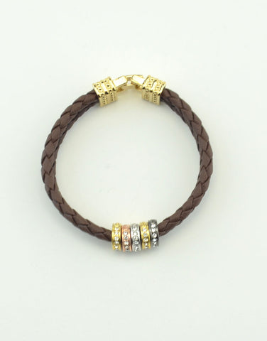 Braid Leather Bracelet