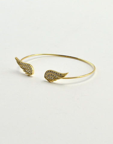 Angel Wing Cuff Bracelet