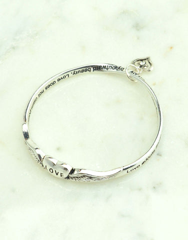 Love Wings Bangle