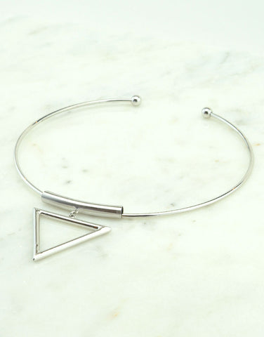 Triangle Metal Choker