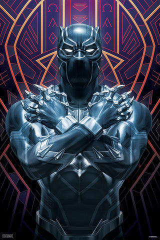 The End Game - Black Panther Poster- Posterboy