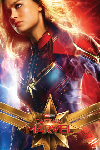 Captain Marvel Movie Poster online by Posterboy
