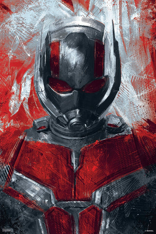 Official Marvel Ant man poster by Posterboy