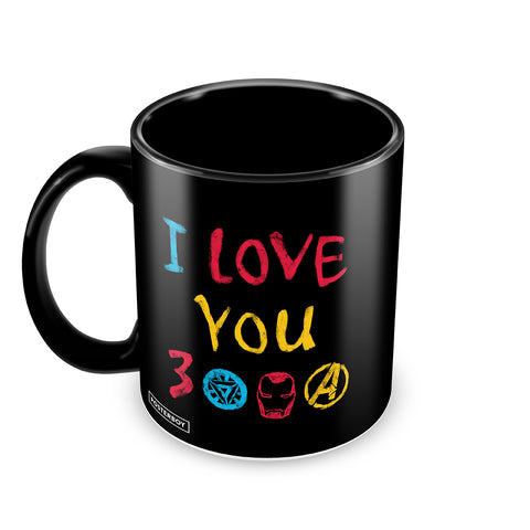 I love you 3000 coffee mug