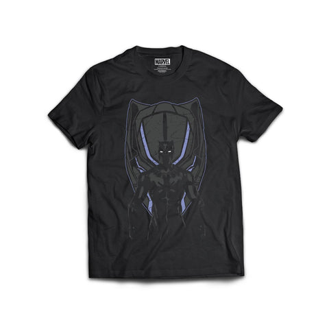 Black Panther Men's Cotton Tshirt - Posterboy