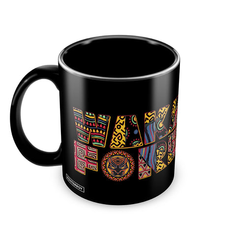 black panther wakanda forever coffee mug