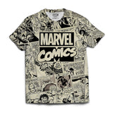 Marvel Comics All Over Print T-shirt