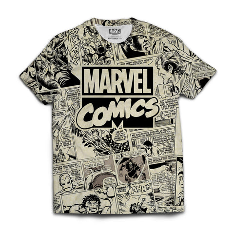 Marvel Comics All Over Print T-shirt - Posterboy