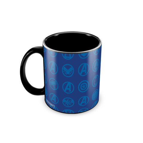 Avengers All Logo Coffee Mug - posterboy