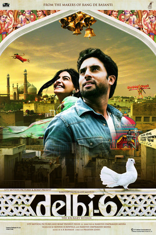 Delhi 6 Bollywood Movie Poster Online - Posterboy