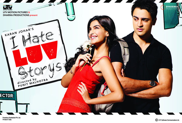 I Hate Love Storys Hindi Film Poster