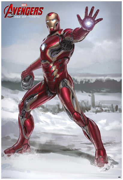 Avengers Iron Man Movie Poster Online by Posterboy