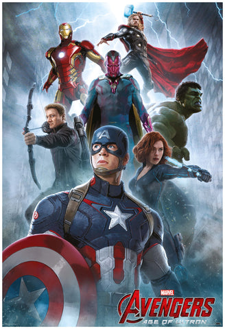 Marvel Avengers- Age of ultron - Movie poster - Posterboy