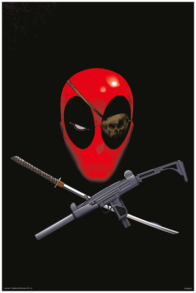 Official Marvel Deadpool Poster Online - Posterboy