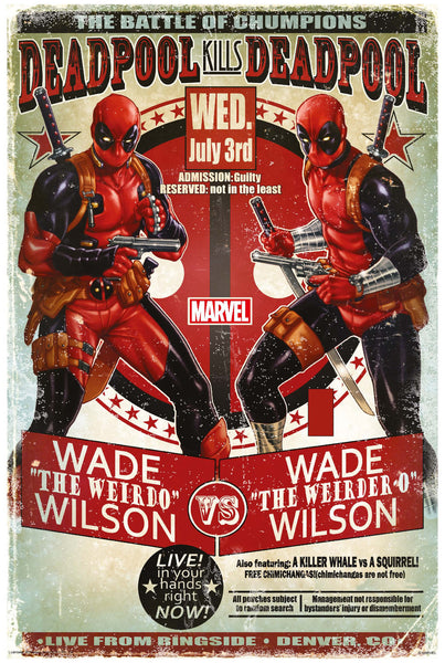 Deadpool Movie Poster Online - Posterboy
