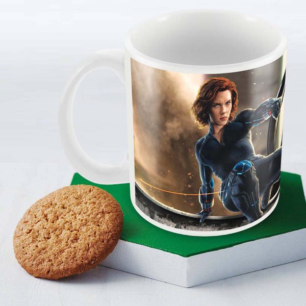Black Widow Coffee Mug By Posterboy