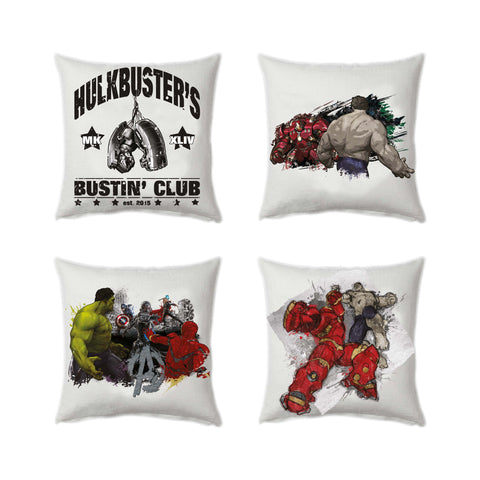 Age of ultron- Hulkbusters club set of 4 - Posterboy