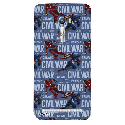 Civil War Action Asus Zenfone Selfie - Posterboy