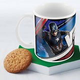 Civil War-captain vs iron man coffee mug - Posterboy
