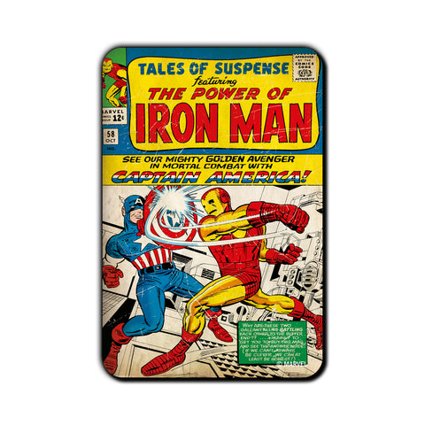Captain America Iron man - Posterboy