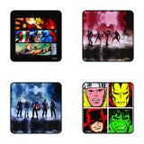 Marvel Avengers Tea Coaster Set of 4 - posterboy