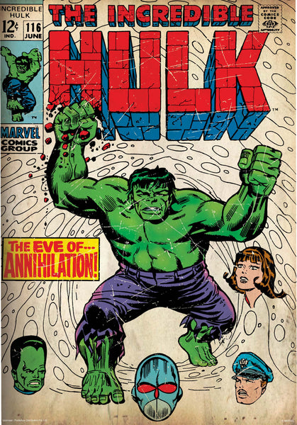 Marvel Hulk Poster Online By Posterboy