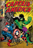 Marvel Comics Poster Captain America And Hulk - posterboy