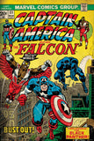 Marvel Comics Captain America And Falcon Poster - Posterboy