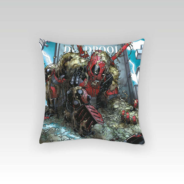Deadpool Fight Cushion Cover (Officially Licensed) - Posterboy