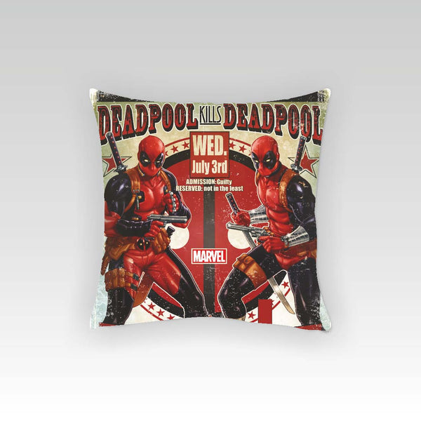 Deadpool Kills Cushion Cover (Officially Licensed) - Posterboy