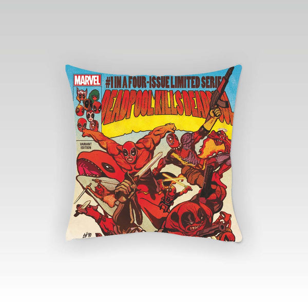 Deadpool Limited Cushion Cover (Officially Licensed) - Posterboy