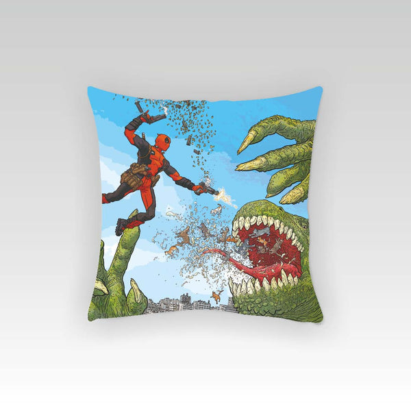 Deadpool - Dino Cushion Cover (Officially Licensed) - Posterboy
